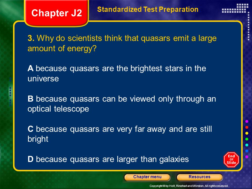 Standardized Test Preparation