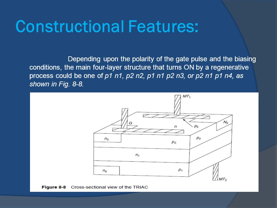 Constructional Features: