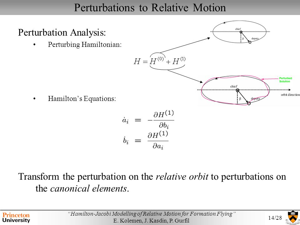 Perturbations to Relative Motion