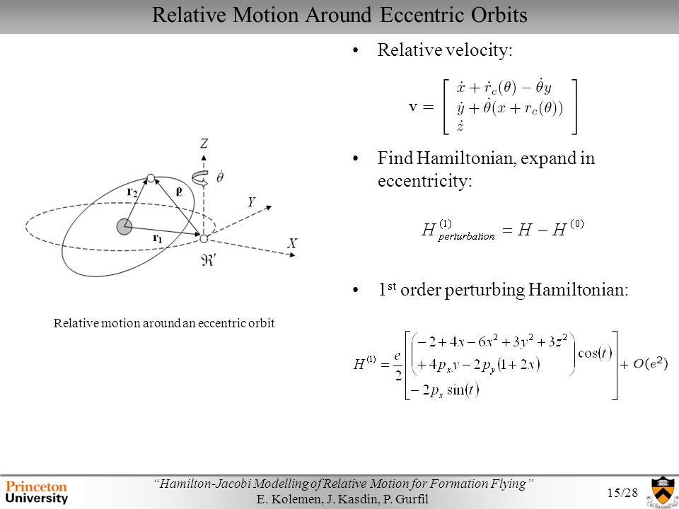 Relative Motion Around Eccentric Orbits