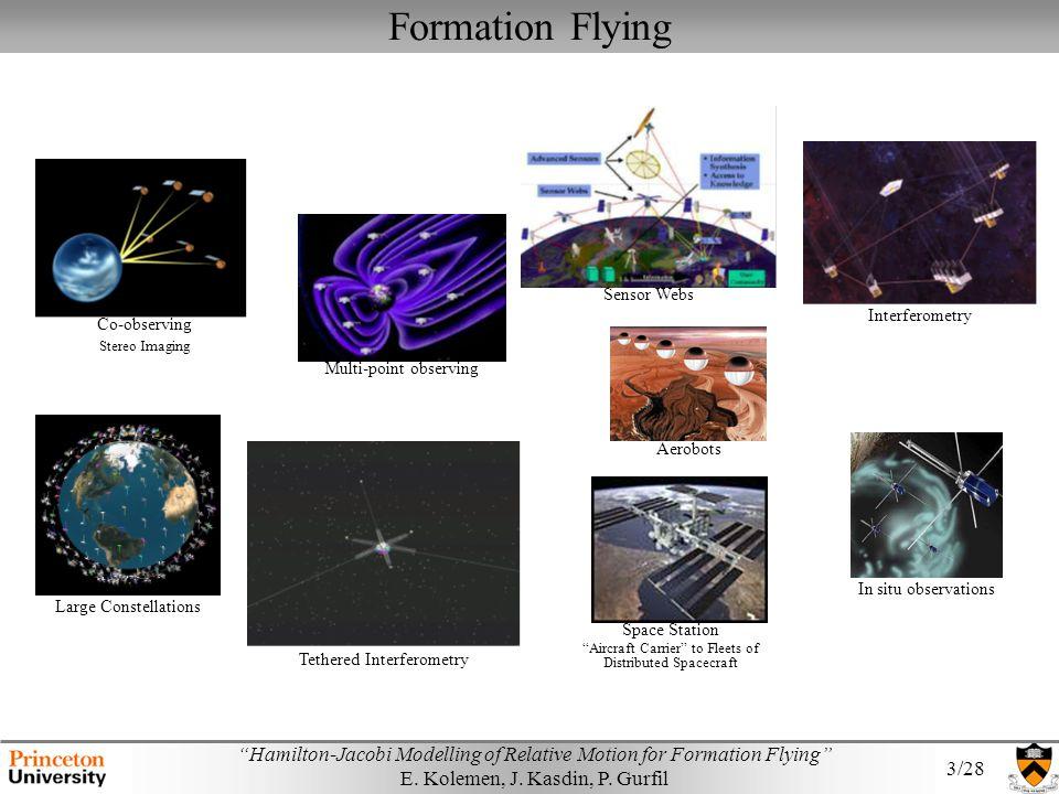 Formation Flying Sensor Webs Interferometry Co-observing