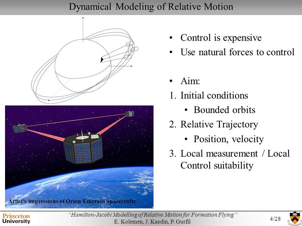 Dynamical Modeling of Relative Motion