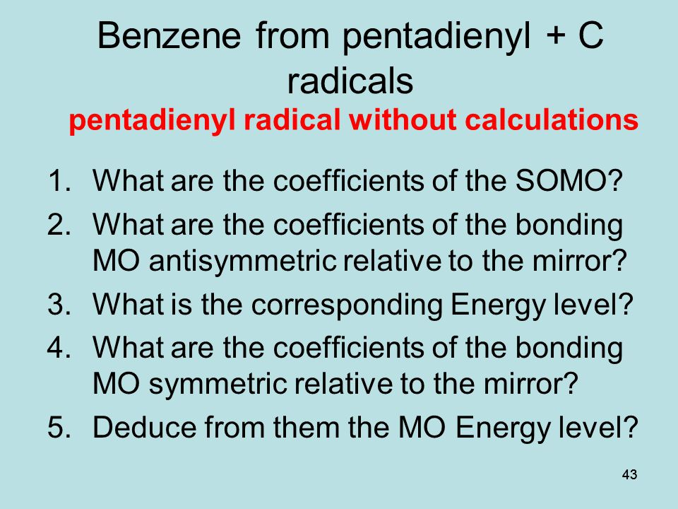 Benzene from pentadienyl + C radicals