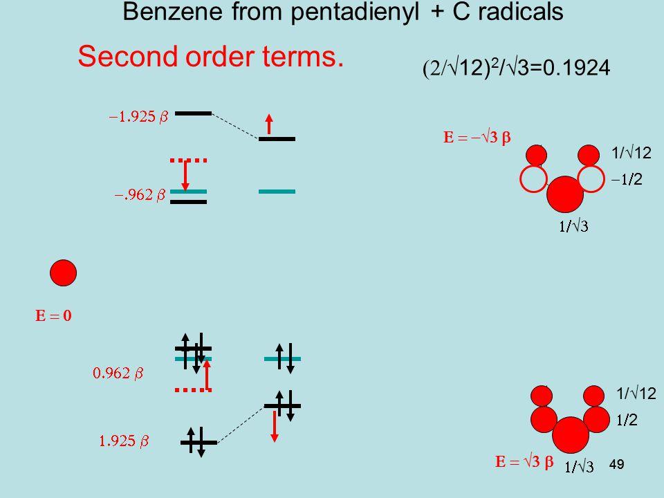 Benzene from pentadienyl + C radicals