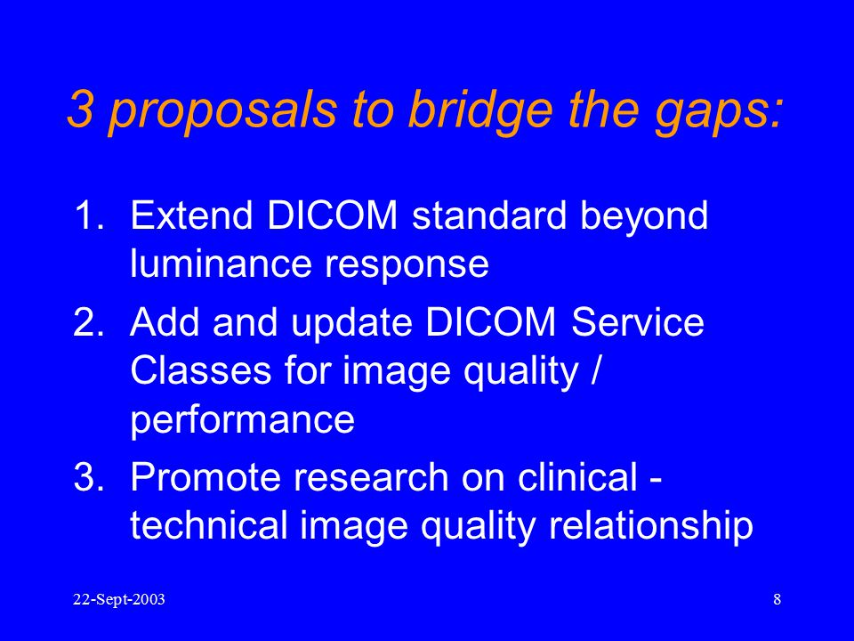 3 proposals to bridge the gaps:
