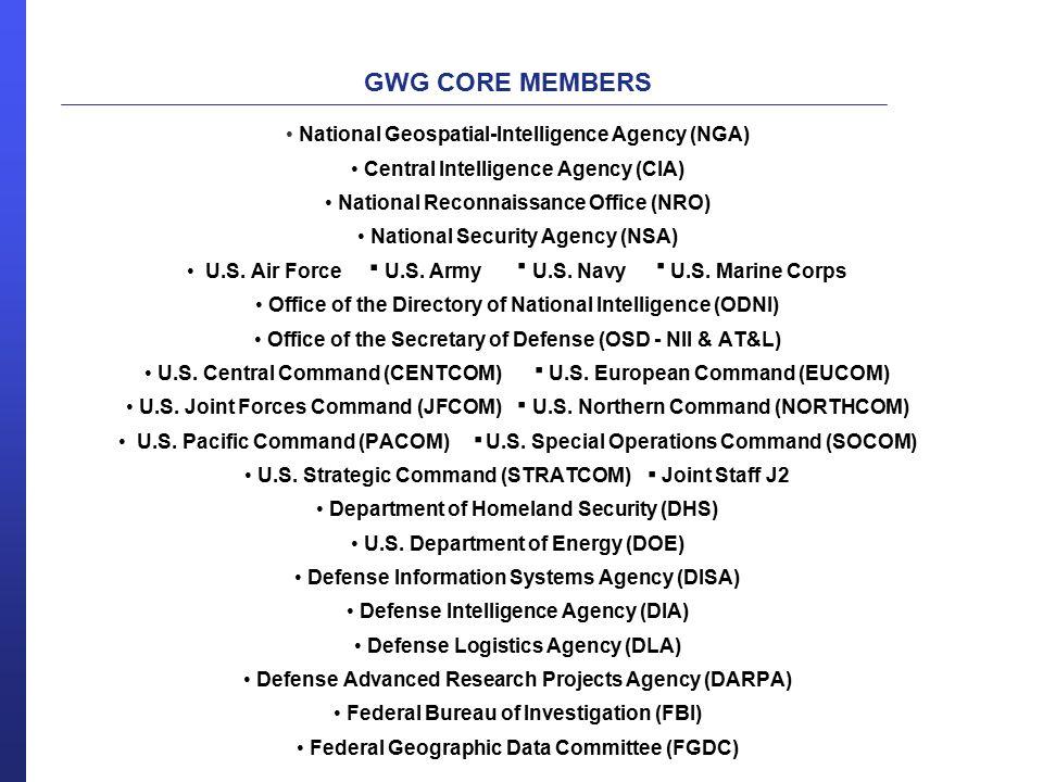 . . . . . . . National Geospatial-Intelligence Agency (NGA)