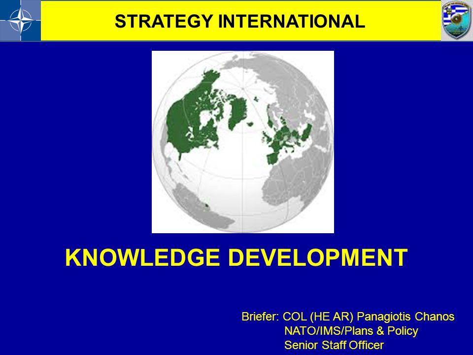 STRATEGY INTERNATIONAL KNOWLEDGE DEVELOPMENT