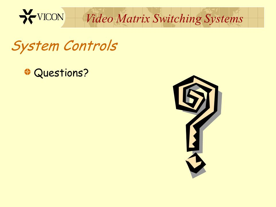 System Controls Questions