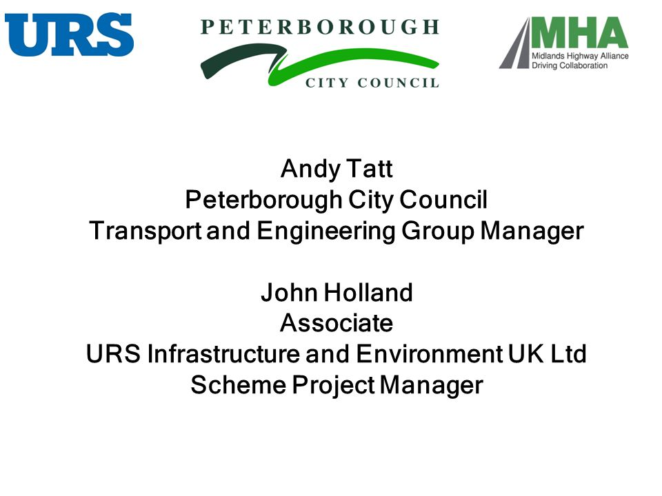 Peterborough City Council Transport and Engineering Group Manager