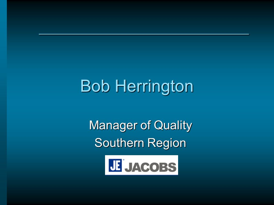 Manager of Quality Southern Region