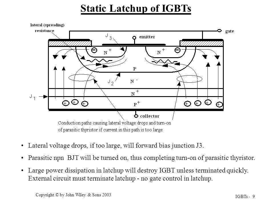 Static Latchup of IGBTs