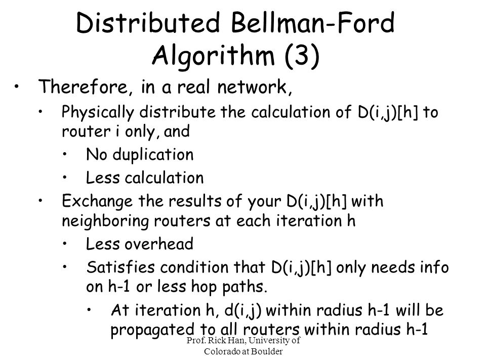 Distributed Bellman-Ford Algorithm (3)