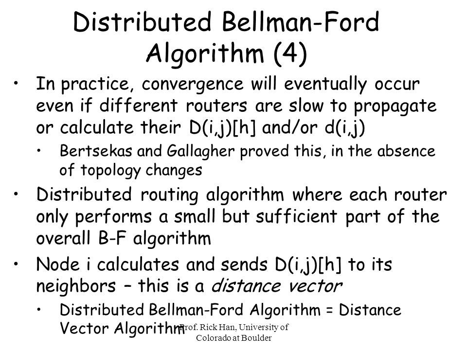 Distributed Bellman-Ford Algorithm (4)