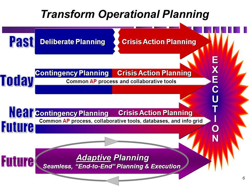 Transform Operational Planning