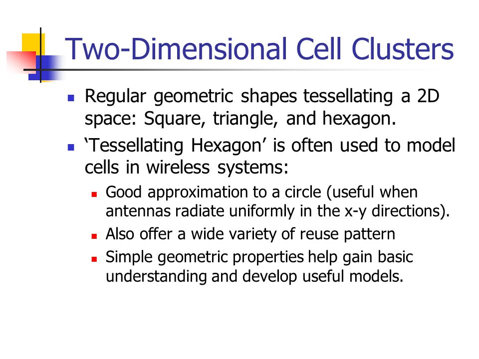 Two-Dimensional Cell Clusters