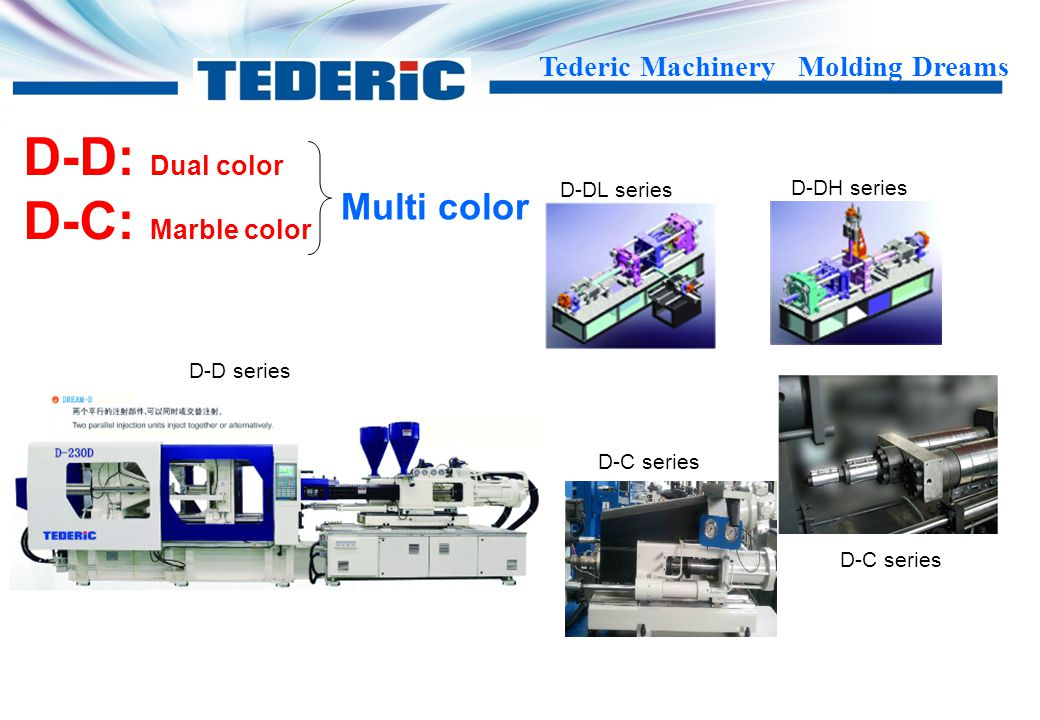 D-D: Dual color D-C: Marble color Multi color D-DL series D-DH series