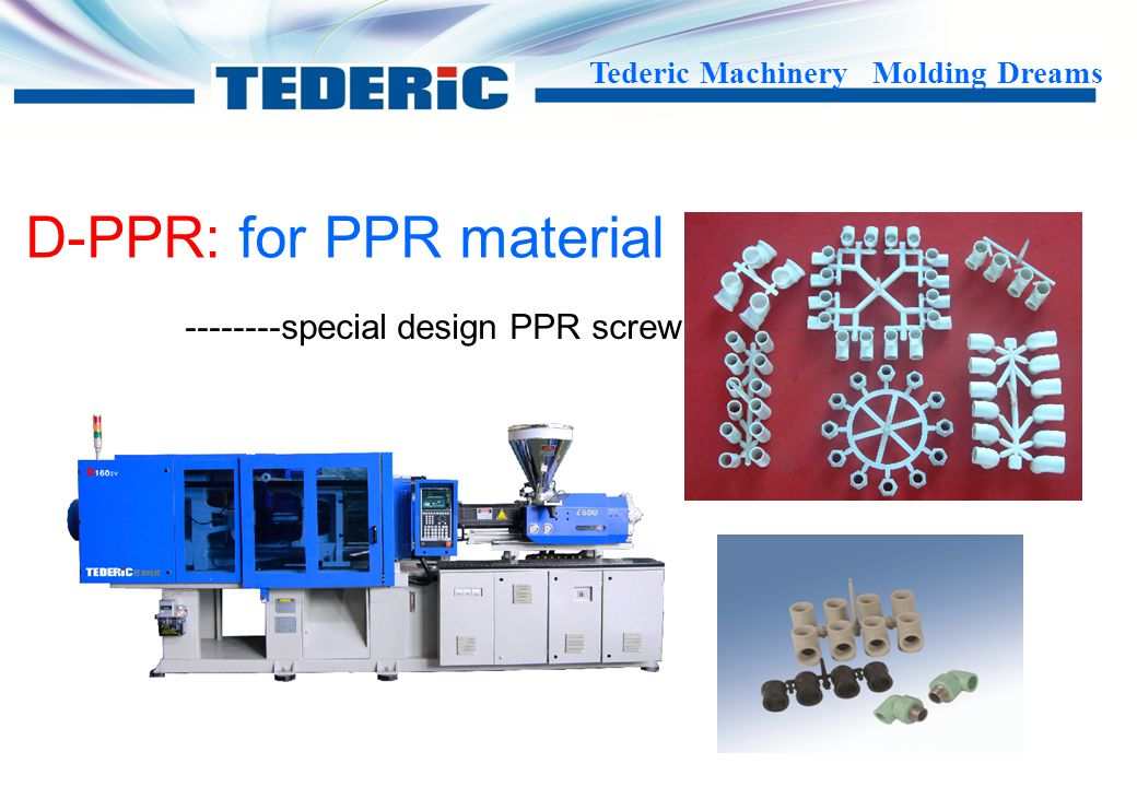 --------special design PPR screw