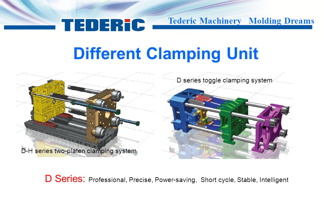 Different Clamping Unit