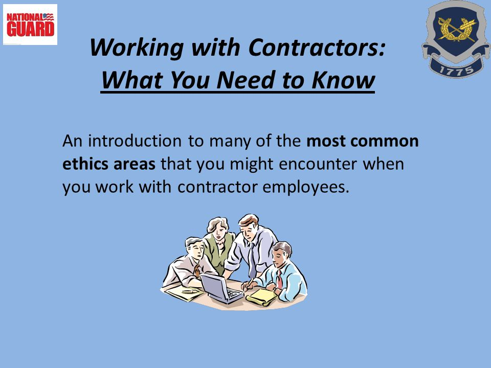 Working with Contractors: What You Need to Know