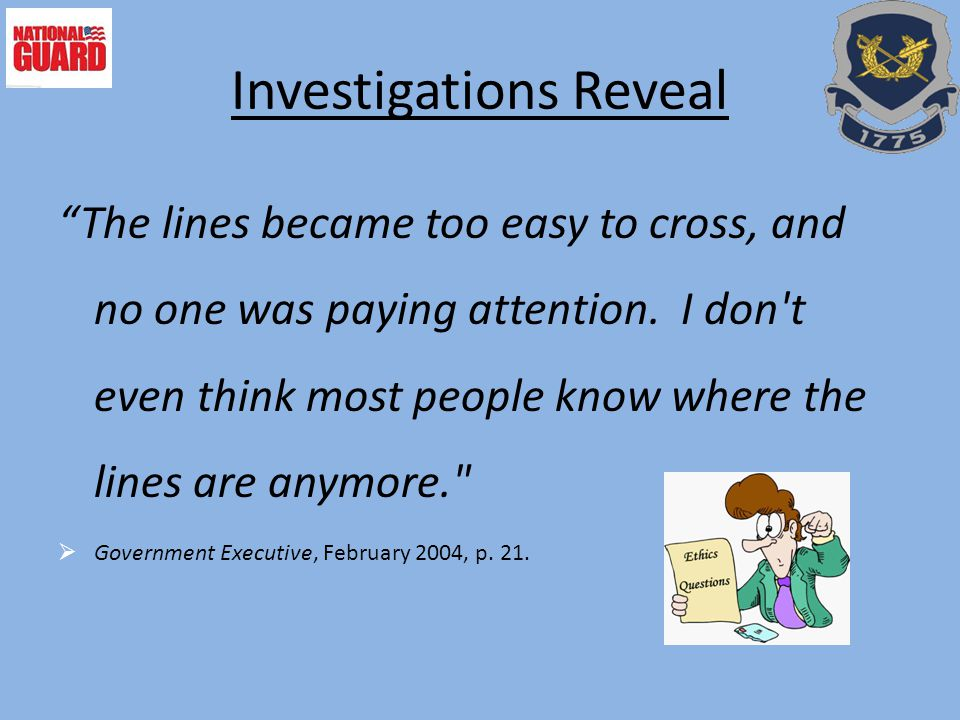 Investigations Reveal