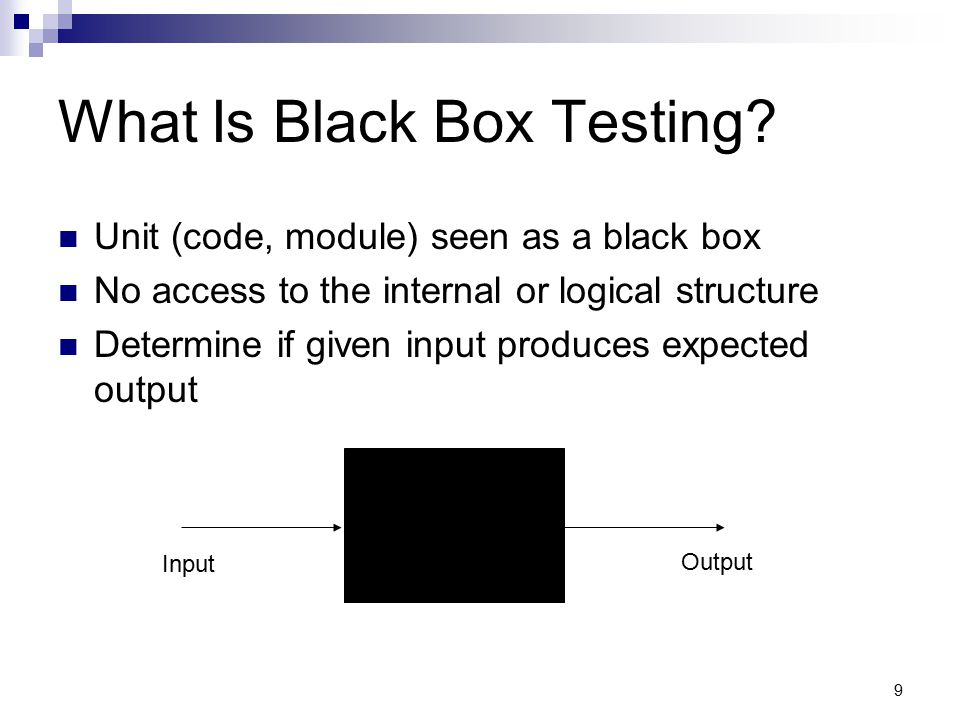 What Is Black Box Testing