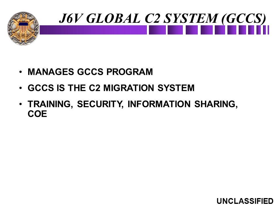 J6V GLOBAL C2 SYSTEM (GCCS)