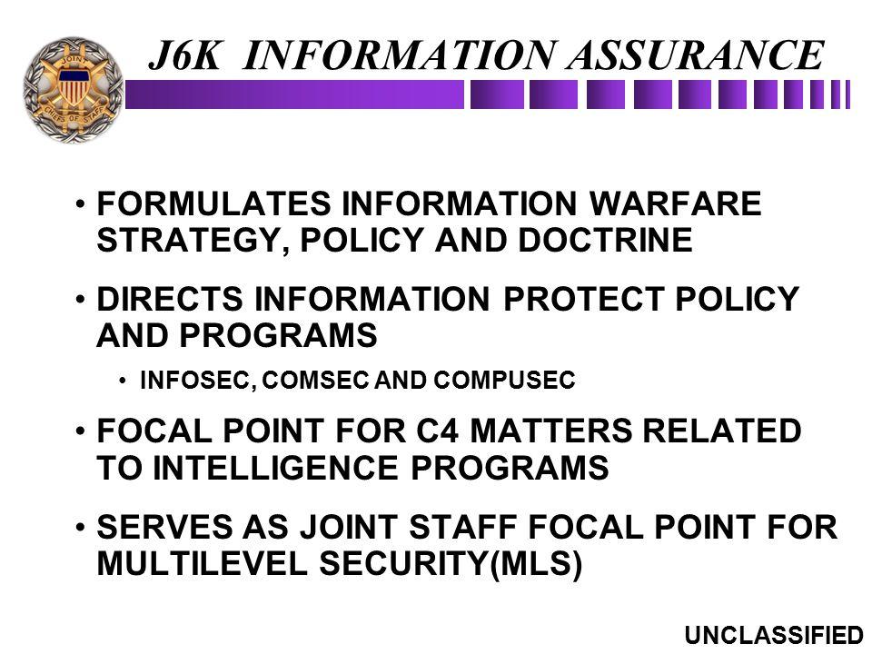 J6K INFORMATION ASSURANCE