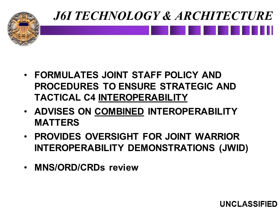 J6I TECHNOLOGY & ARCHITECTURE