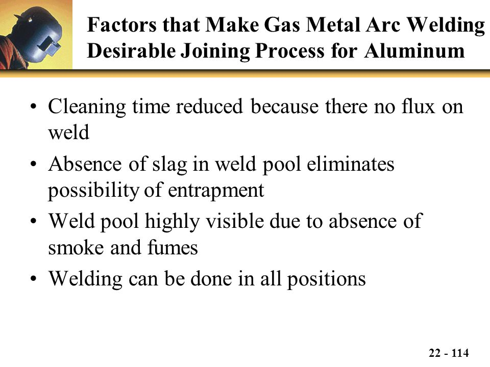Factors that Make Gas Metal Arc Welding Desirable Joining Process for Aluminum
