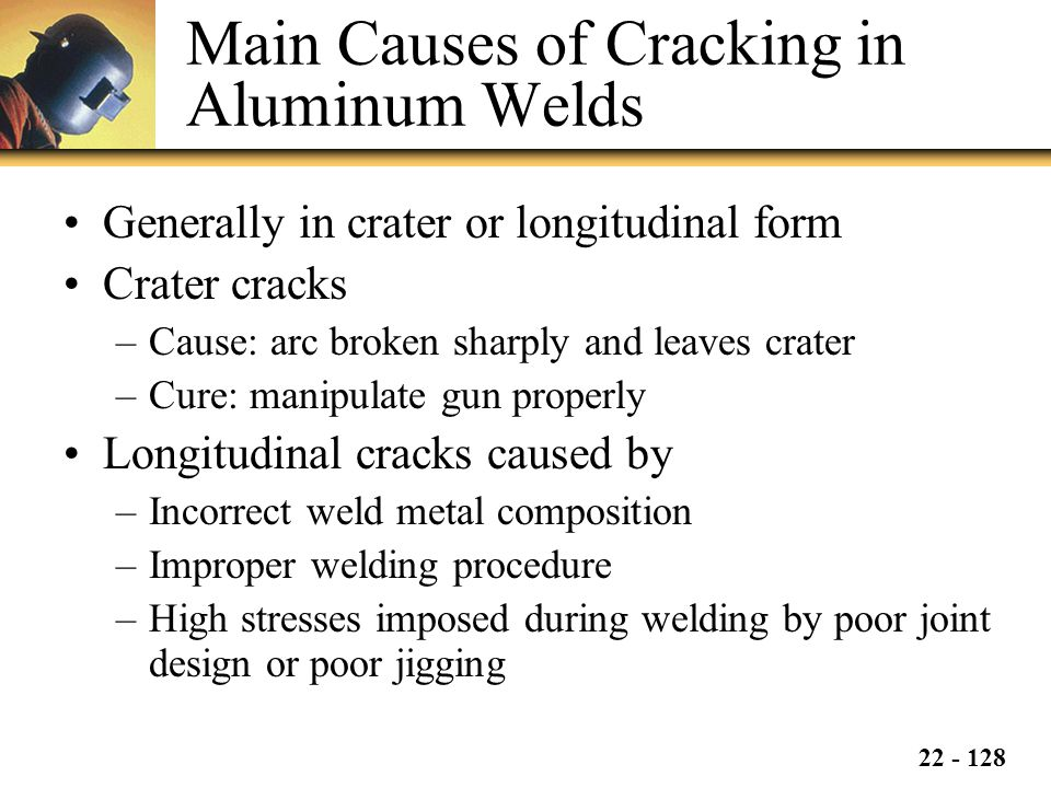 Main Causes of Cracking in Aluminum Welds