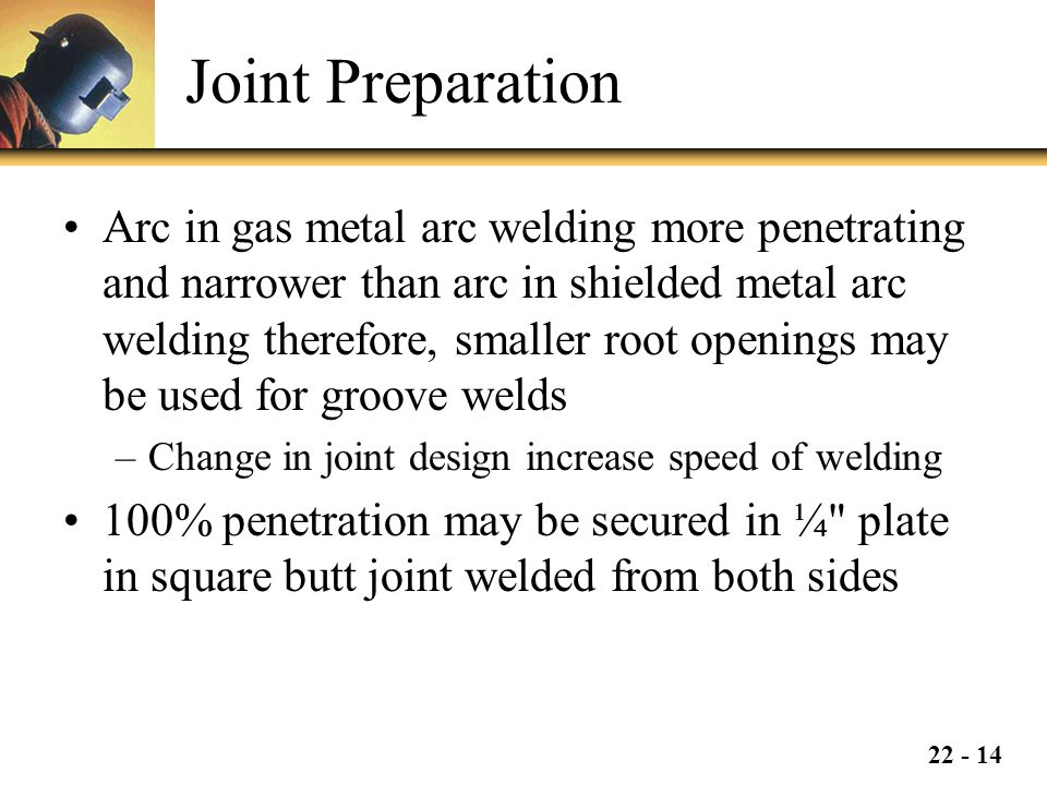 Joint Preparation