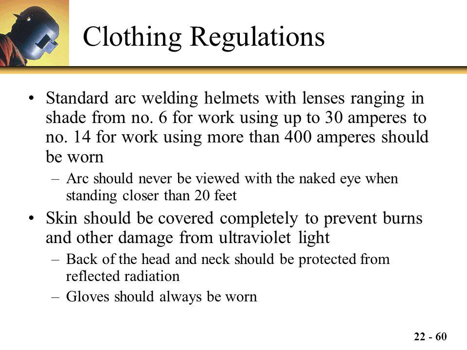 Clothing Regulations