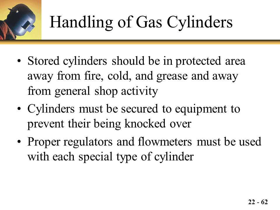 Handling of Gas Cylinders
