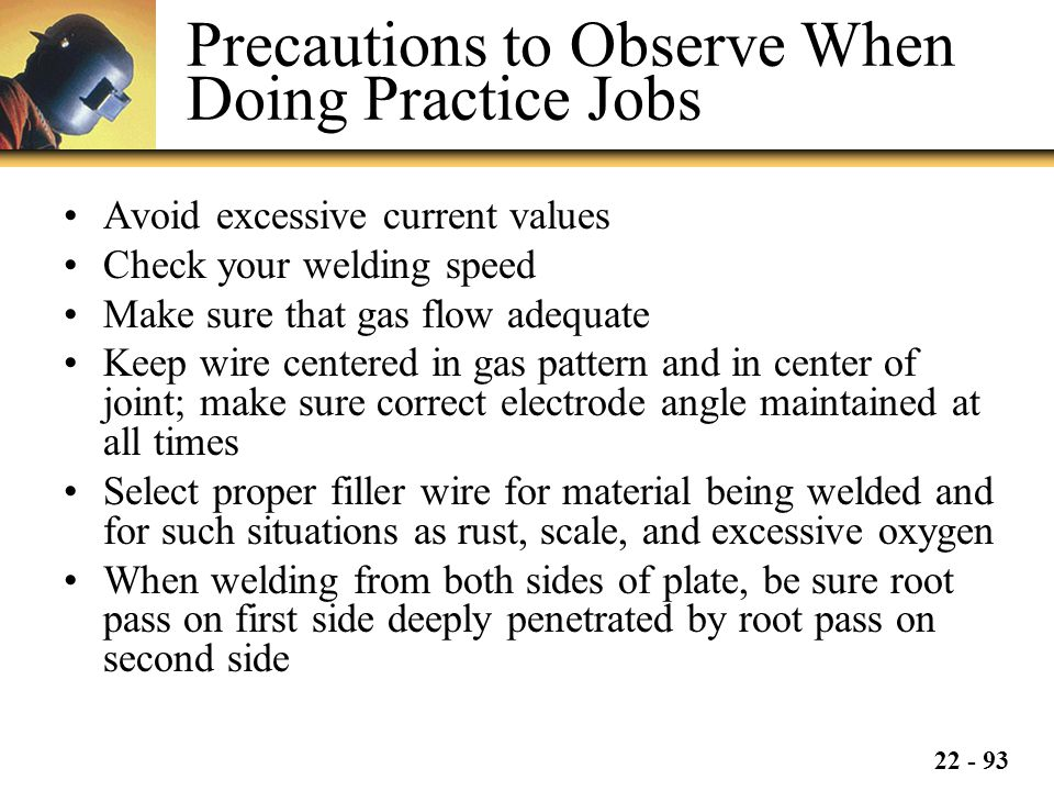 Precautions to Observe When Doing Practice Jobs
