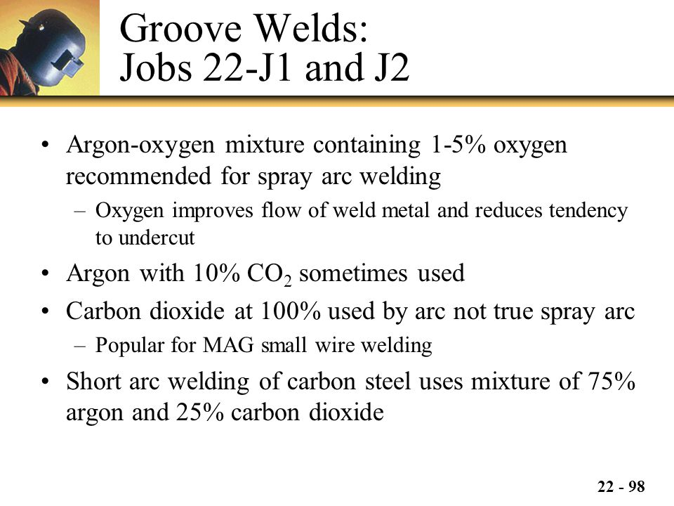 Groove Welds: Jobs 22-J1 and J2