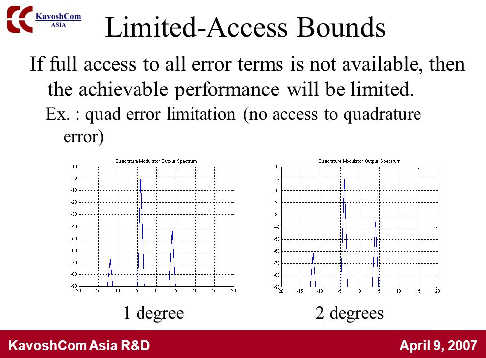 Limited-Access Bounds
