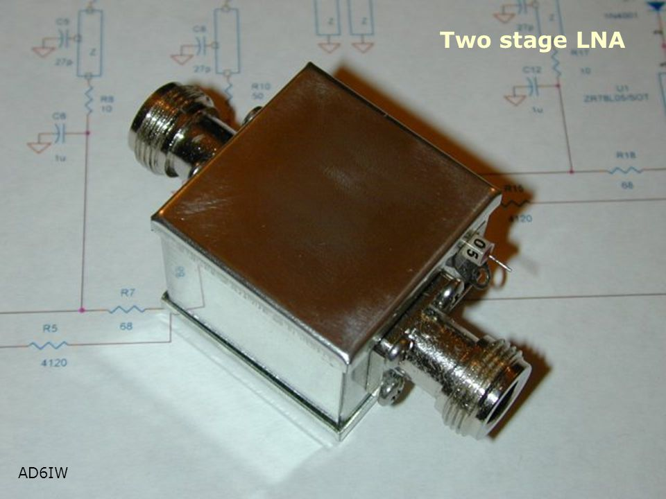 Two stage LNA AD6IW AD6IW