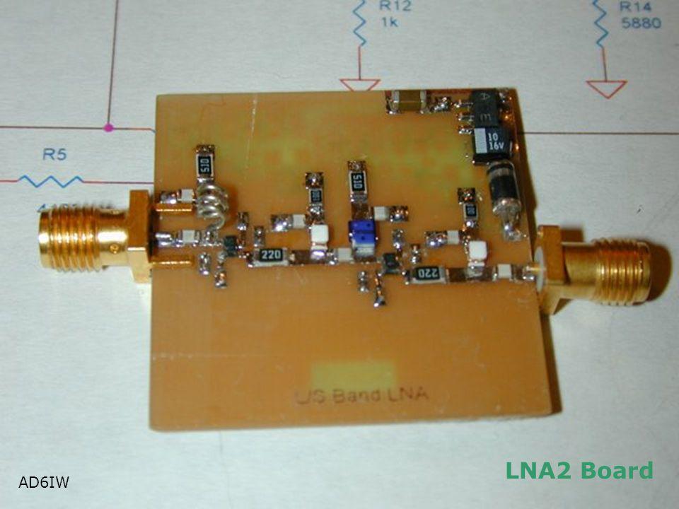 LNA2 Board AD6IW AD6IW