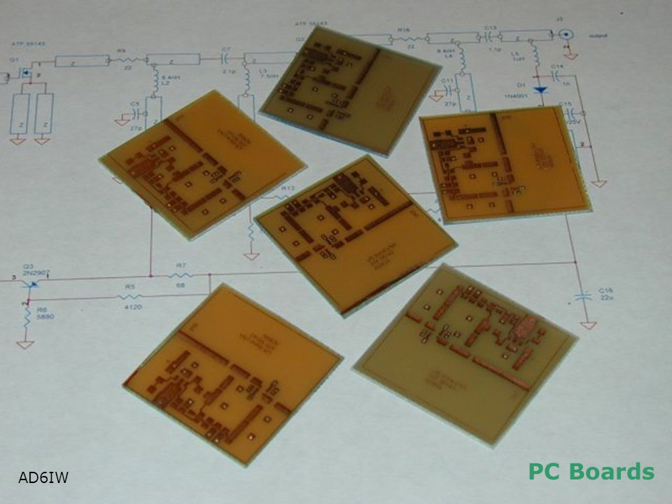 PC Boards AD6IW AD6IW