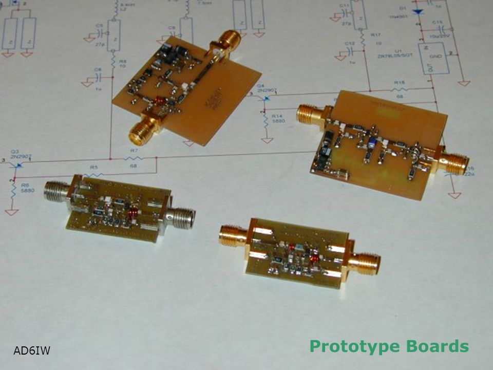 Prototype Boards AD6IW AD6IW