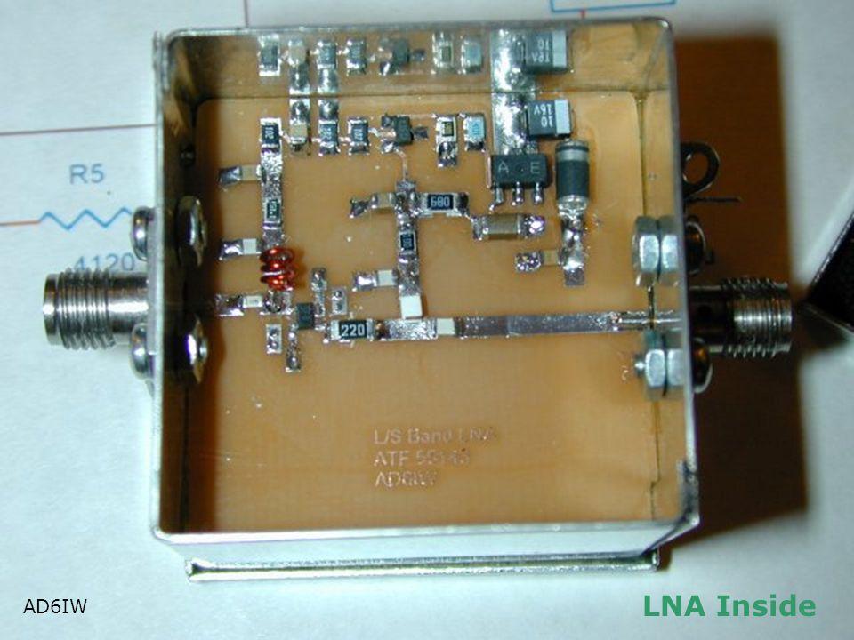 LNA Inside AD6IW AD6IW