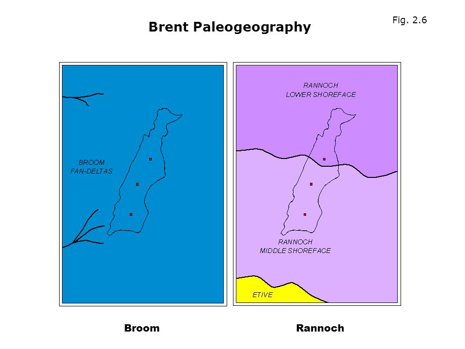 Fig. 2.6 Brent Paleogeography Broom Rannoch