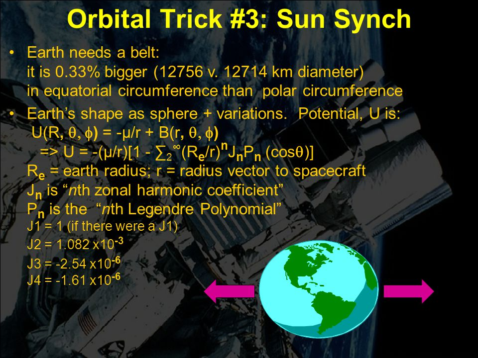 Orbital Trick #3: Sun Synch