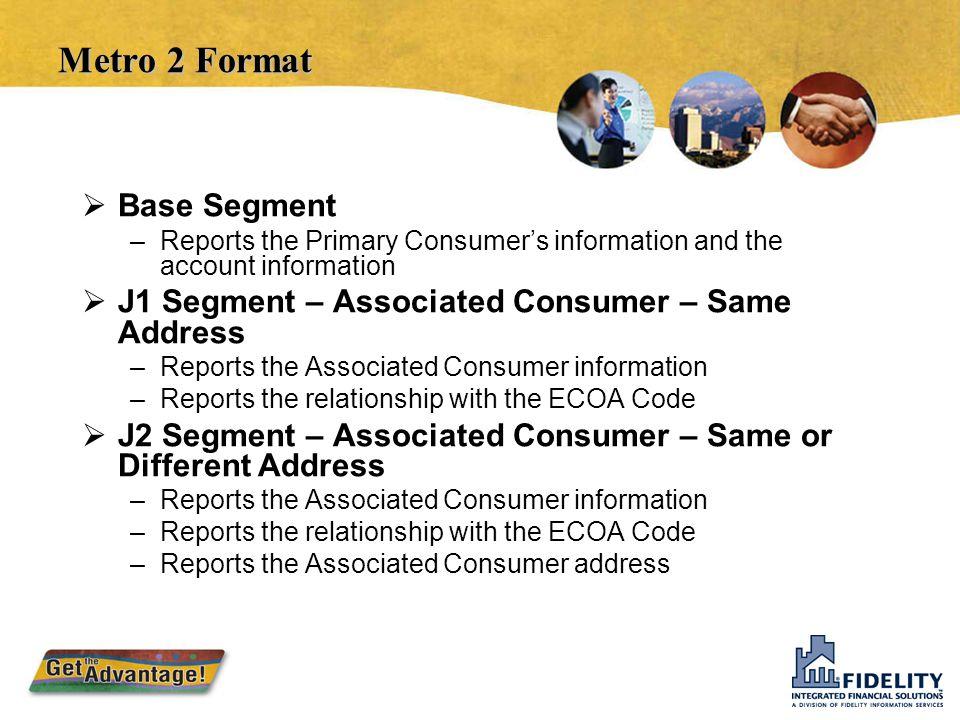 Metro 2 Format Base Segment