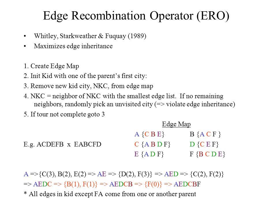 Edge Recombination Operator (ERO)