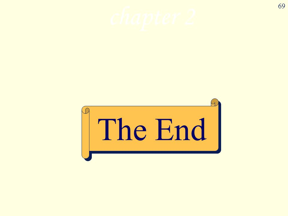 chapter 2 The End