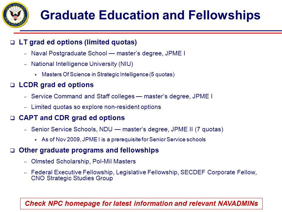 Graduate Education and Fellowships