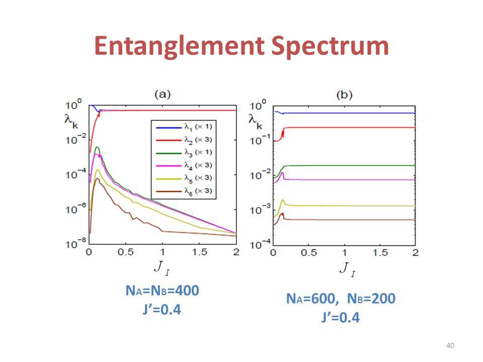Entanglement Spectrum