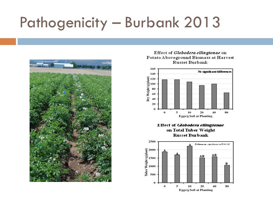 Pathogenicity – Burbank 2013