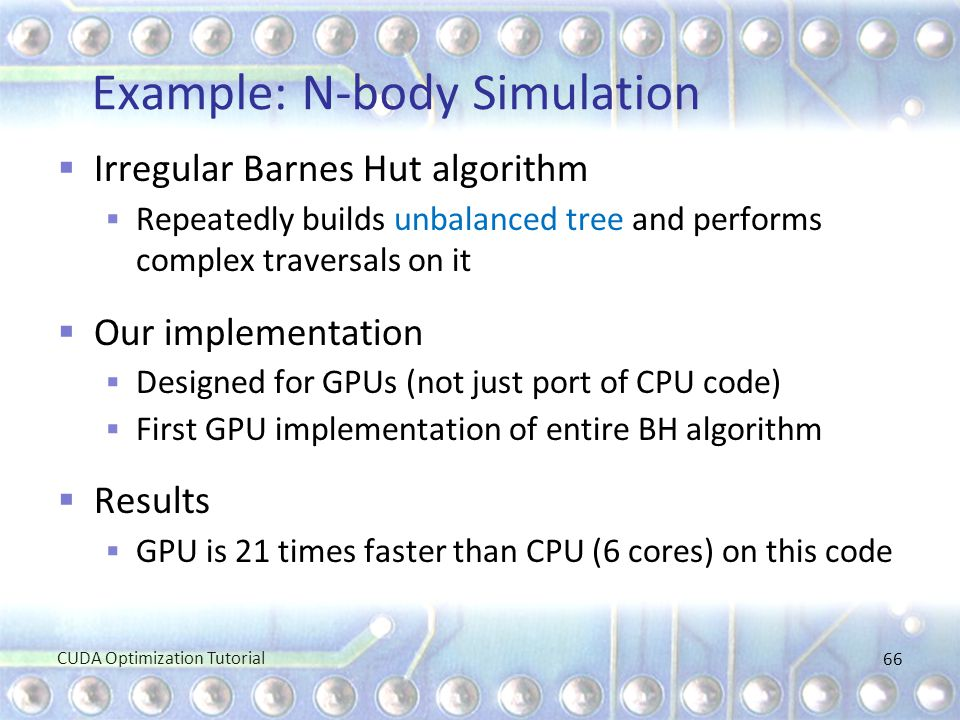 Example: N-body Simulation
